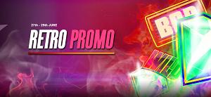 Retro promotion in WildSlots casino