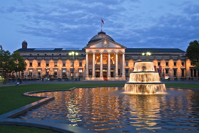 The Kurhaus Casino in Wiesbaden is not too far off from Baden-Baden -  AllStarsCasinos - portal about online casino (internet casino)