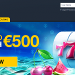 Casino1 main page